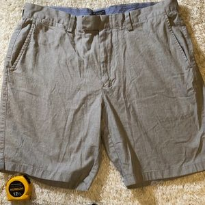 "J. Crew men's gray shorts 35 x 9"""